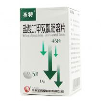圣特鹽酸二甲雙胍腸溶片45片