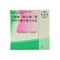 克龄蒙 戊酸雌二醇片21片