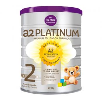 澳洲直邮 新西兰A2 Platinum酪蛋白婴儿奶粉2段(6-12个月宝宝) 900g   下单请下三罐或6罐!!!