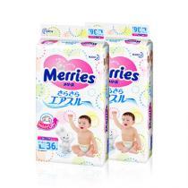 日本花王纸尿裤L36