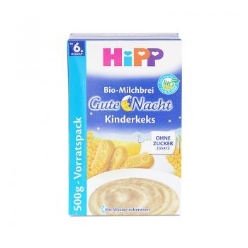 德国喜宝Hipp饼干燕麦牛奶晚安米粉500g