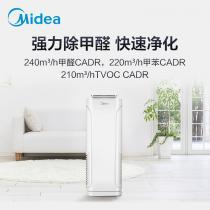 美的(Midea)空氣凈化器 除甲醛 除菌 除霾凈化器 客廳臥室 負離子 新風凈化器