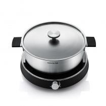 九陽(Joyoung) 電火鍋大容量套裝不銹鋼火鍋多功能團圓灶電磁爐家用灶大火力C21-HG1