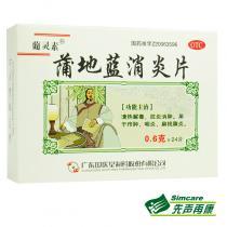 葡灵素蒲地蓝消炎片24片